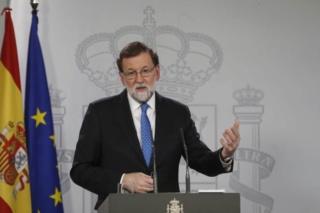 """[Gobierno] Mariano Rajoy: """"La moción de censura su sentido es el hedonismo personal de Pedro Sánchez"""" 23naci10"""