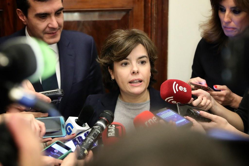 """[PP] Soraya Sáenz: """"Pedro Sánchez ha traicionado España"""" 24212910"""