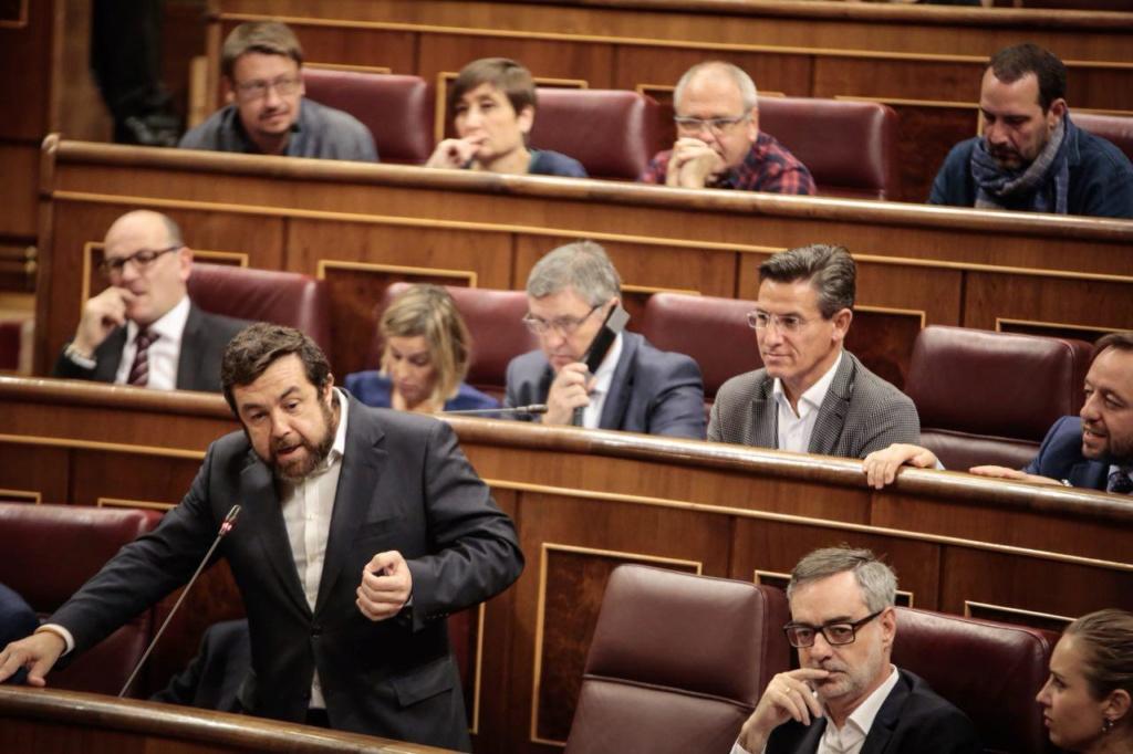 Sesión de control al Gobierno en funciones 1. 4510