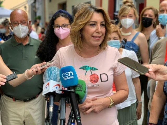 """[Junta de Andalucía] Susana Díaz: """"Daremos todo el soporte económico a rescatar a las personas"""" 6ee7fe10"""