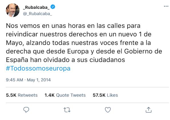 Redes Sociales del PSOE y de sus dirigentes 781f1411