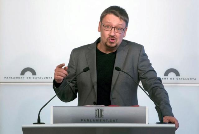 """[ECP] RDP Xavier Domènech:""""no estamos en el Parlament para ser considerados diputados de segunda por el Govern ni para apoyar unos presupuestos derechizados"""" 79096710"""