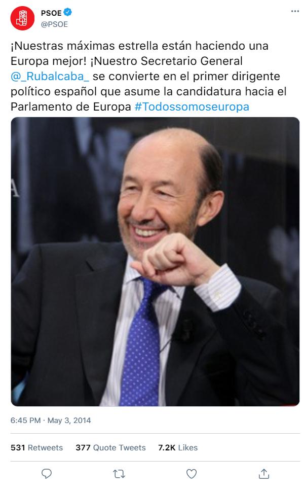 Redes Sociales del PSOE y de sus dirigentes A49f2110