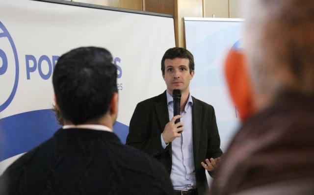[PP] Presentación del nuevo responsable económico del Partido Popular Casado12