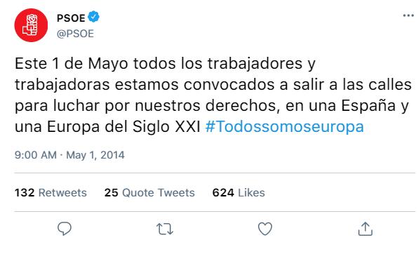 Redes Sociales del PSOE y de sus dirigentes D0e26b11