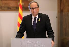 """[Govern] RDP Quim Torra: """"estamos preparados para cumplir la decisión del pueblo catalán de no tener injerencias extranjeras"""" Descar25"""