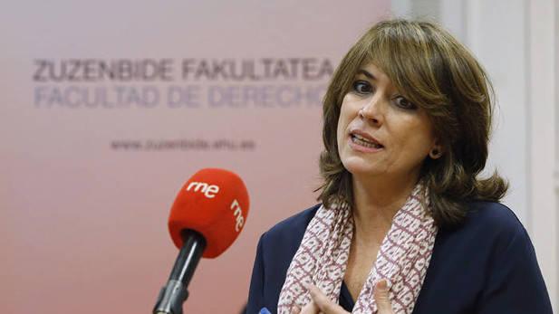 """[PSOE/GOBIERNO] Dolores delgado: """"Exhumaremos a Francisco Franco del valle de los Caídos"""" Efe_2010"""