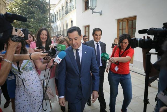 """[PP] Juanma Moreno: """"Tengo la firme convicción de a final de mes, poder dar un gobierno a nuestra tierra"""" Juanma10"""