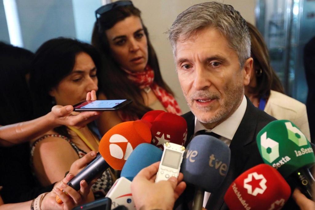 """[GOBIERNO] Fernando Grande Marlaska """"La democracia ha vuelto a ganar y hemos recuperado las esencias de la libertad"""" Marlas12"""