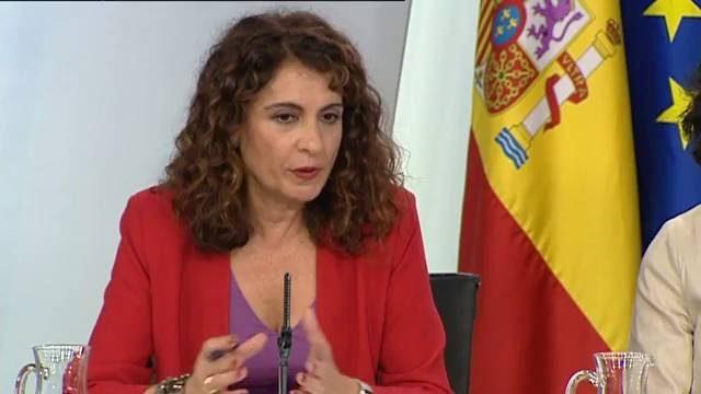 """[GOBIERNO] María Jesús Montero: """"El Gobierno de España pedirá la confianza de los 350 diputados y diputadas para que el Proyecto de Ley de Presupuestos salga adelante"""" Minist10"""