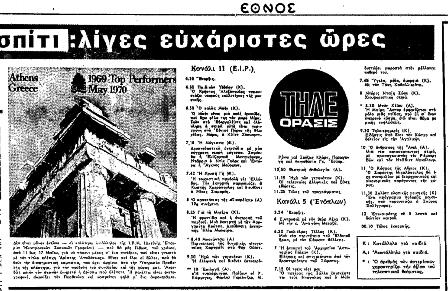Το πρόγραμμα της ελληνικής τηλεόρασης, σαν σήμερα (21 Νοεμβρίου 1969) Eaua_a10