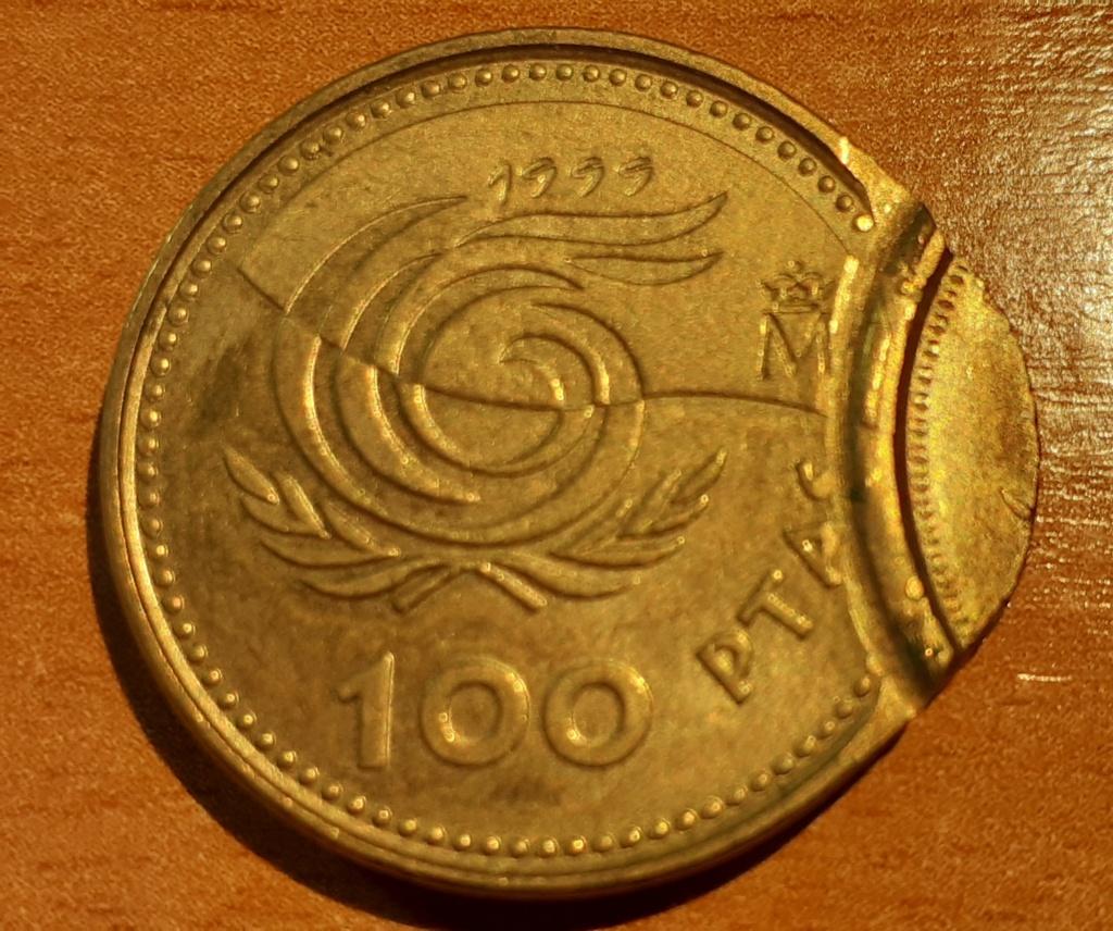 100 PTS 1999 DOBLE ACUÑACIÓN 02812