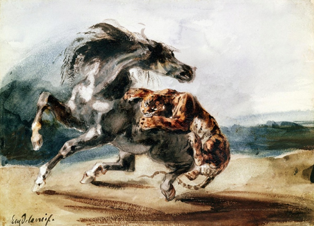 History & The Arts : Delacroix B1889510