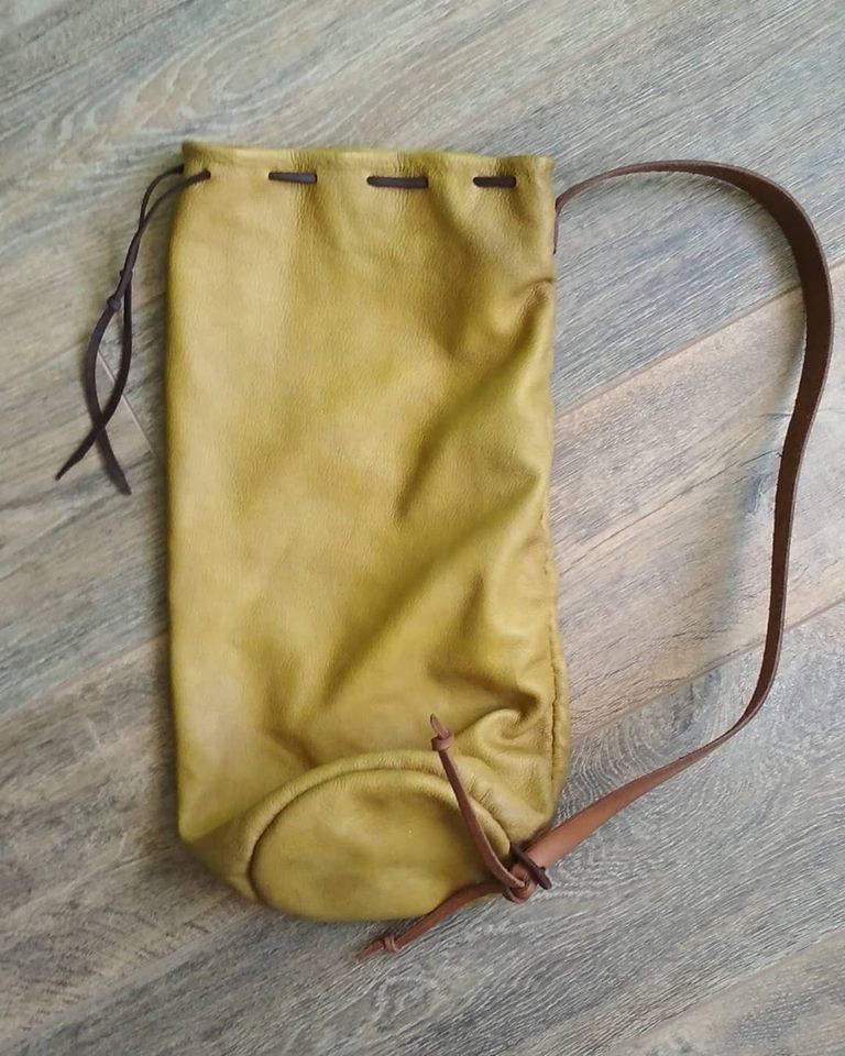 bolsa peregrino de cuero 54425410