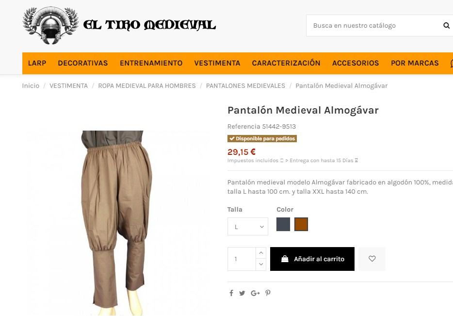 falso pantalon almogávar Screen10