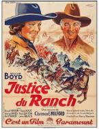 Justice du ranch (Bar 20 justice, 1938, de Lesley Selander) Bar10