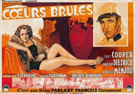 Cœurs Brûlés (Josef von Sternberg, 1930) Coeurs10