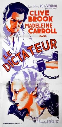 Le Dictateur (1934) de Victor Saville En162610