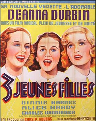 Trois jeunes filles (ou Trois jeunes filles à la page) (Henry Koster, 1936)  Filles10