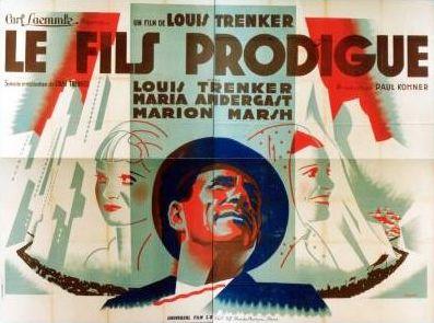 Le Fils prodigue (1934) de Luis Trenker Fils10