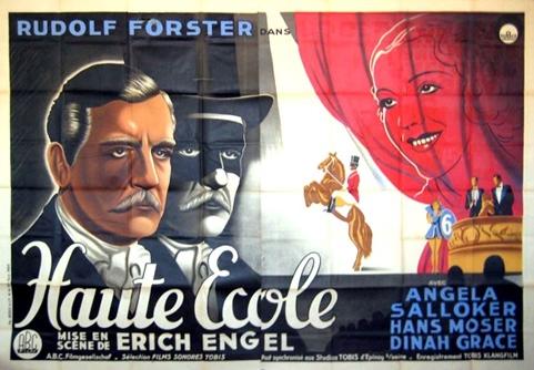 Haute école (1934) de Erich Engel Haute10