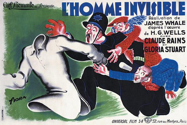 L' homme invisible (1933) de James Whale Homme-10