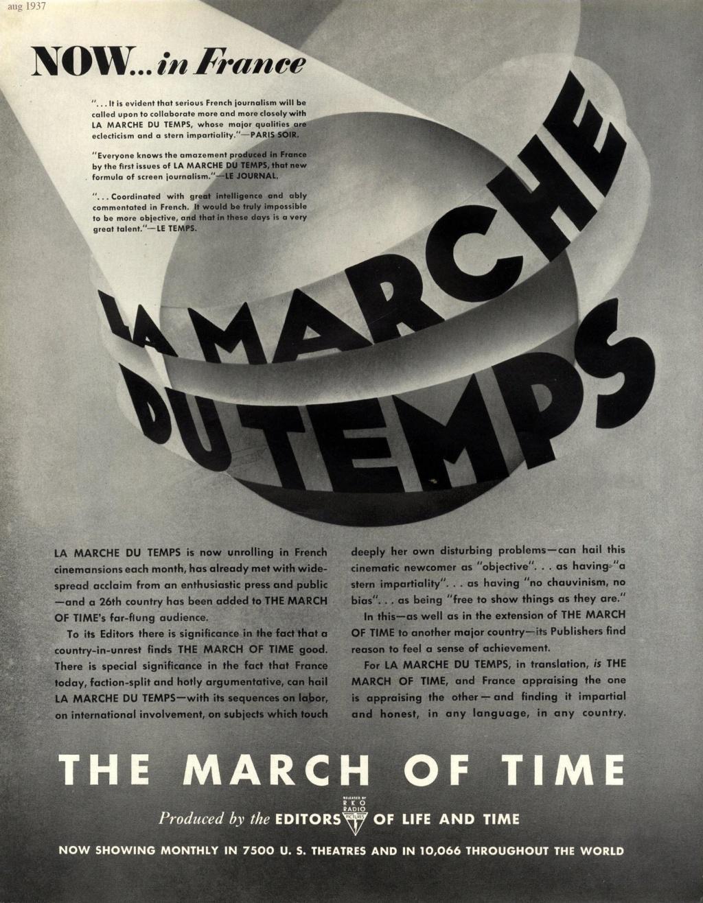 La Marche du temps (1935-67, USA) - Actualités cinématographiques Marche10