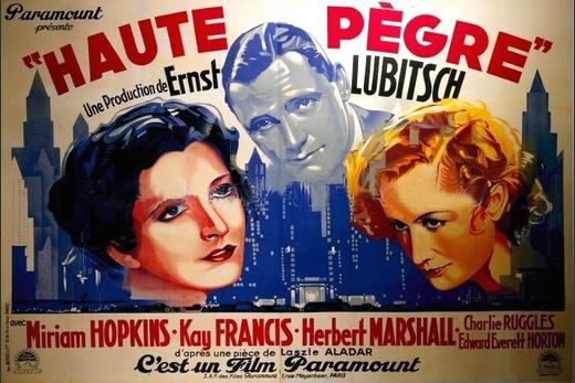 Haute pègre (1932) de Ernst Lubitsch Pzogre10