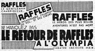Le Retour de Raffles (Mansfield Marham, 1932) Raffle10