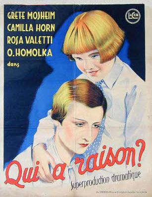 Qui a raison ? (1932) de Georg Jacoby Raison10