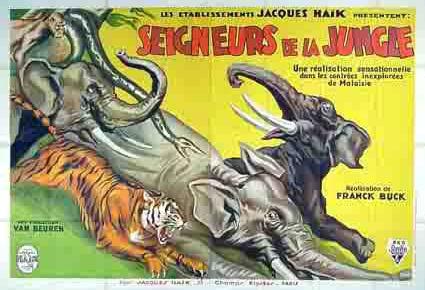 Seigneurs de la jungle (1932) de Clyde E.Elliott / Frank Buck Seigne10