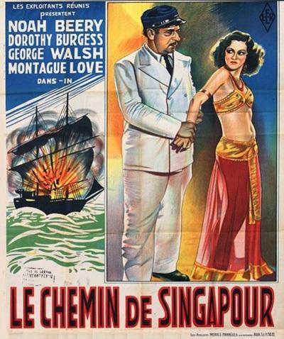 Au large de Singapour (1932) de Charles Hutchinson Singap10