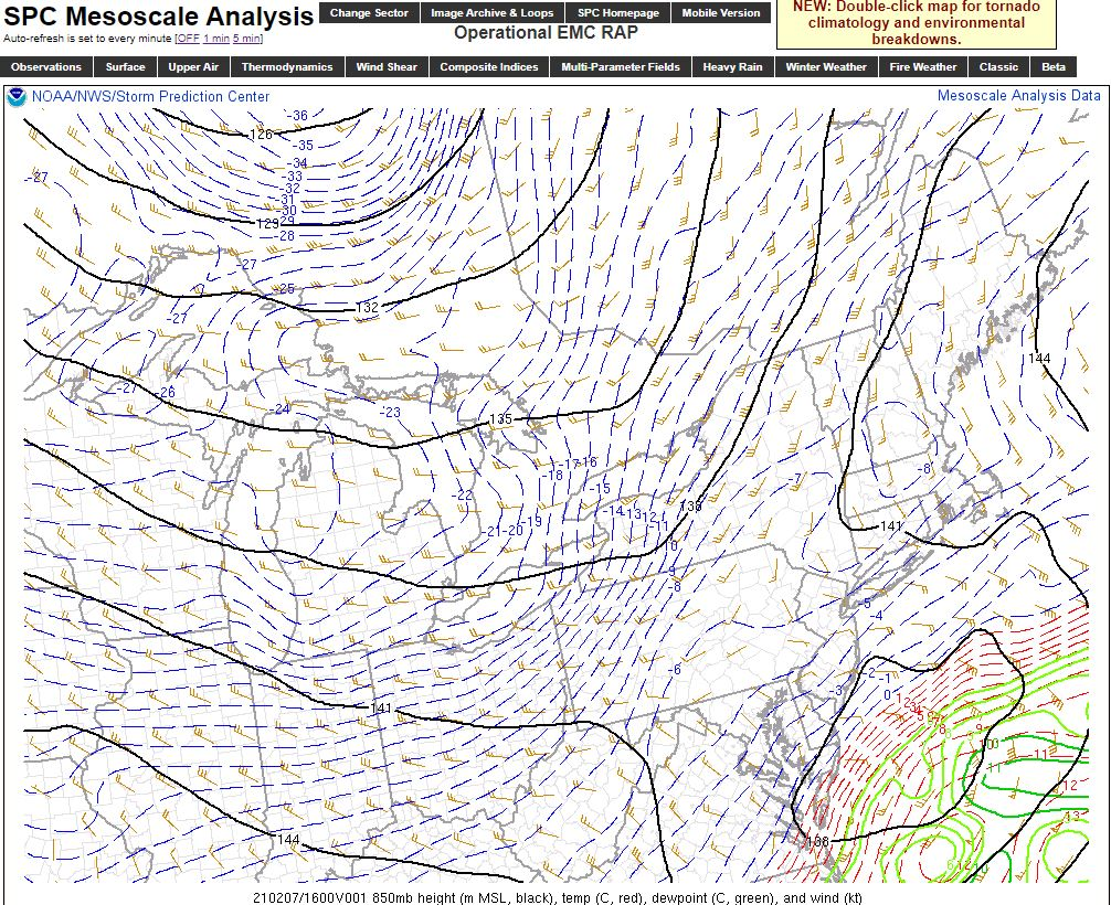 Super Bowl Snowstorm, Part II: First Call - Page 8 850mb10