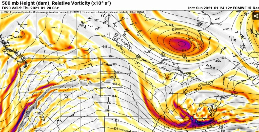 JANUARY 28th Storm Potential Euro5015