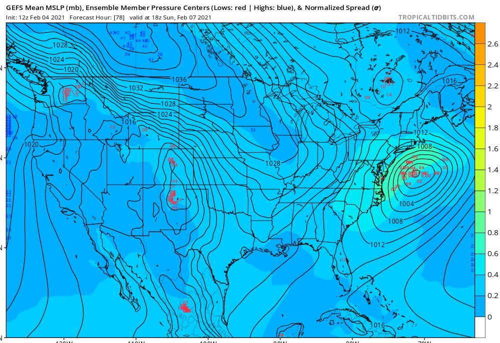 Possible Winter Storm - Super Bowl Sunday - Page 4 Gefs210