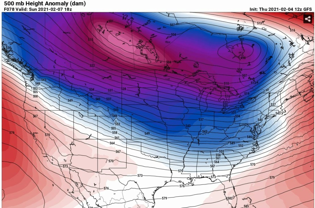 Possible Winter Storm - Super Bowl Sunday - Page 4 Gfs50010