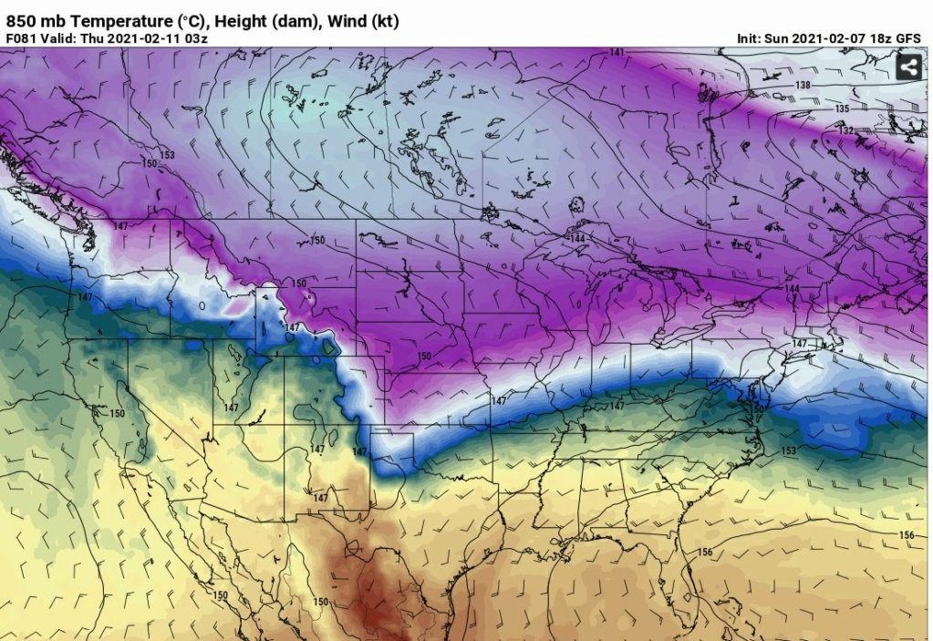 Back to Back Snow Events FEB 9th-11th - Page 2 Gfs85011