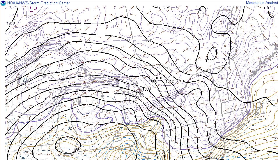 December 1st-2nd Winter Storm Observations  Temps11