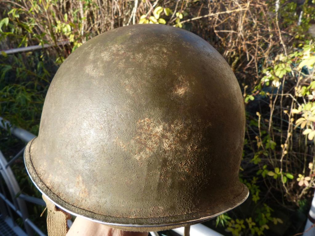 """Aide à l'identification paire de casques """"Normandie"""" P1210816"""