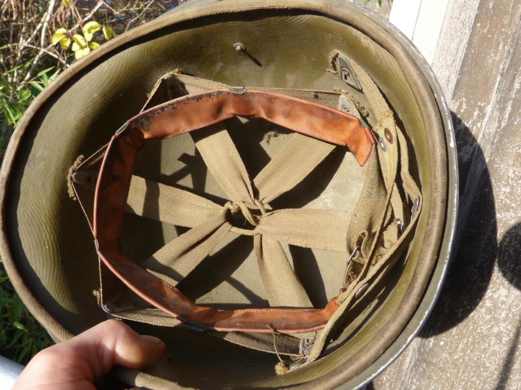 """Aide à l'identification paire de casques """"Normandie"""" P1210817"""