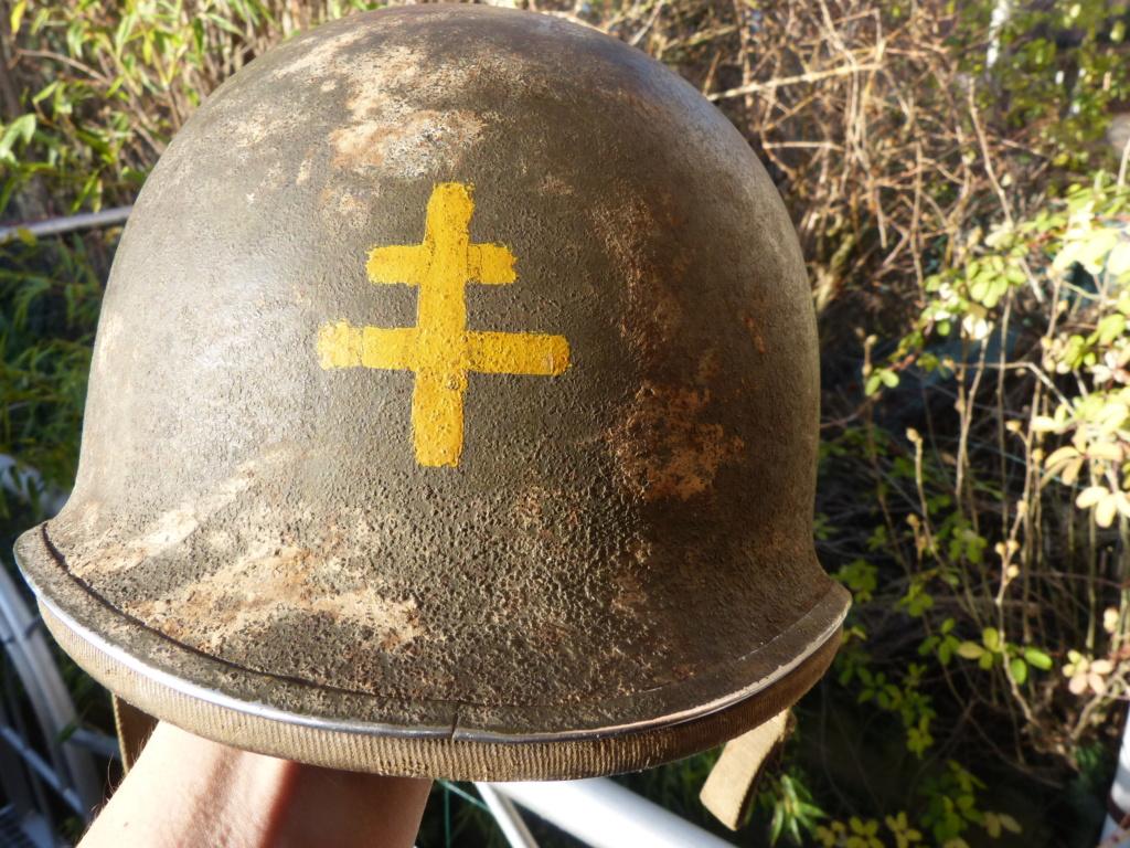 """Aide à l'identification paire de casques """"Normandie"""" P1210818"""