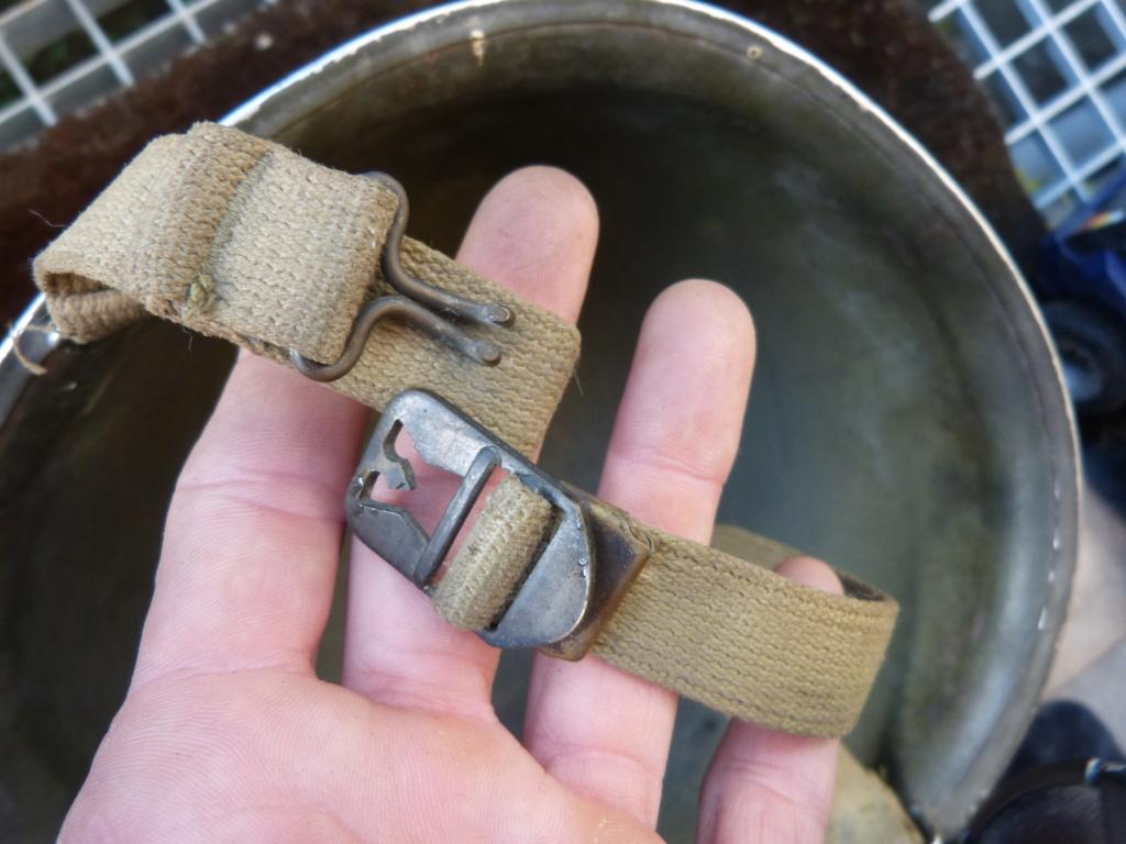 """Aide à l'identification paire de casques """"Normandie"""" P1210820"""