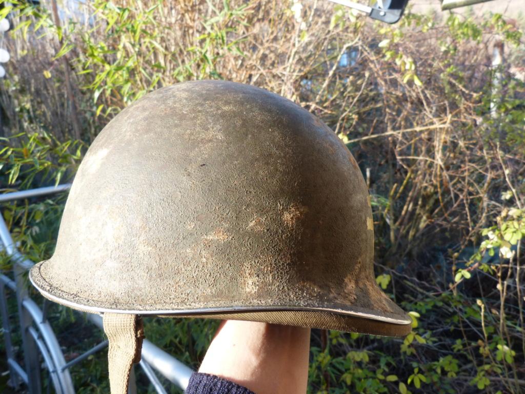 """Aide à l'identification paire de casques """"Normandie"""" P1210824"""