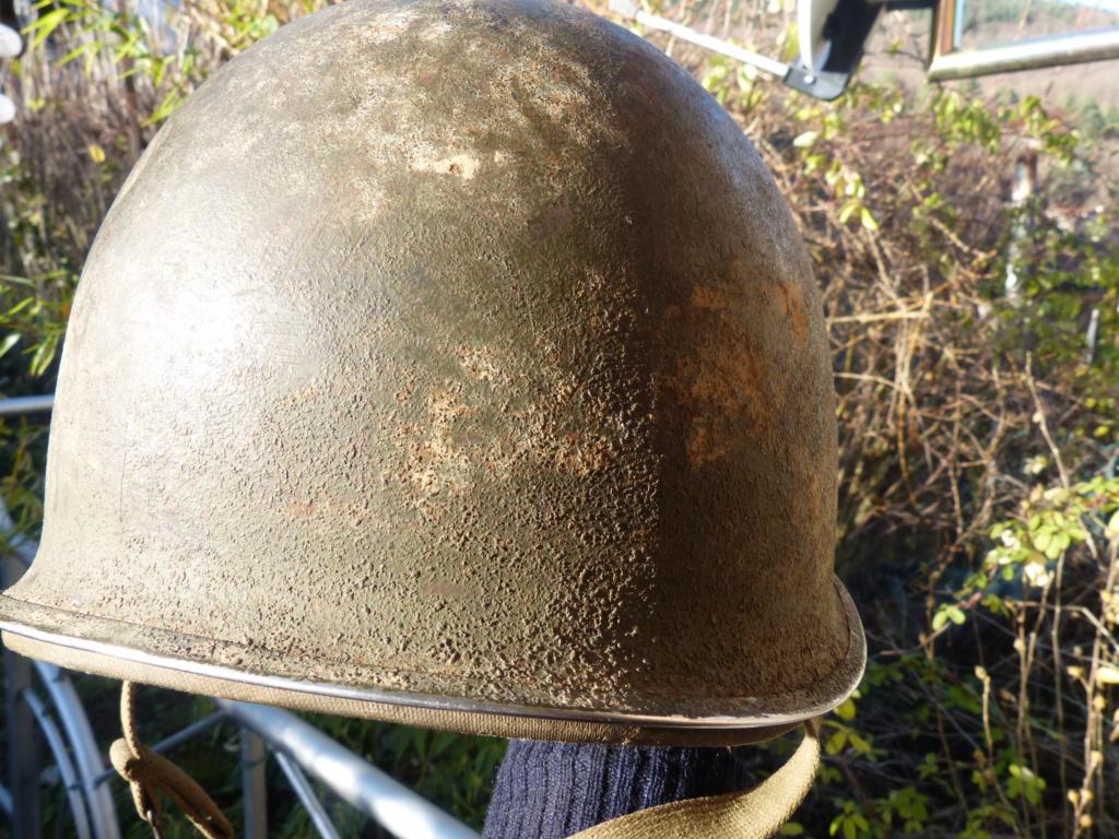 """Aide à l'identification paire de casques """"Normandie"""" P1210825"""