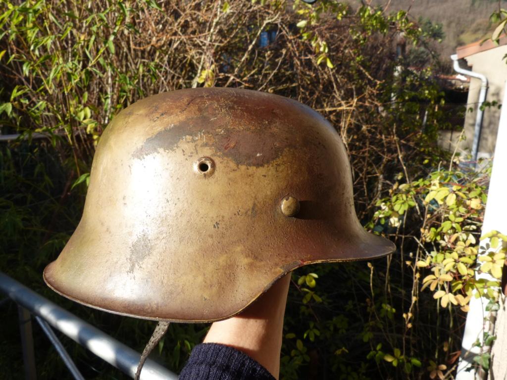 """Aide à l'identification paire de casques """"Normandie"""" P1210831"""