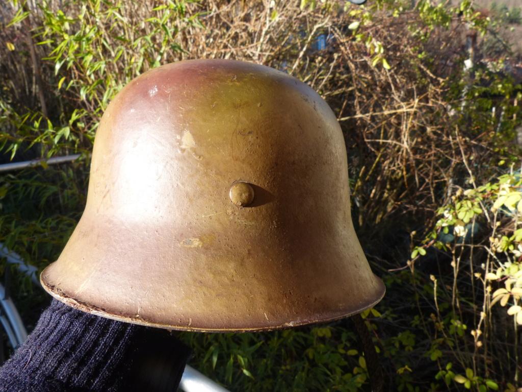 """Aide à l'identification paire de casques """"Normandie"""" P1210832"""