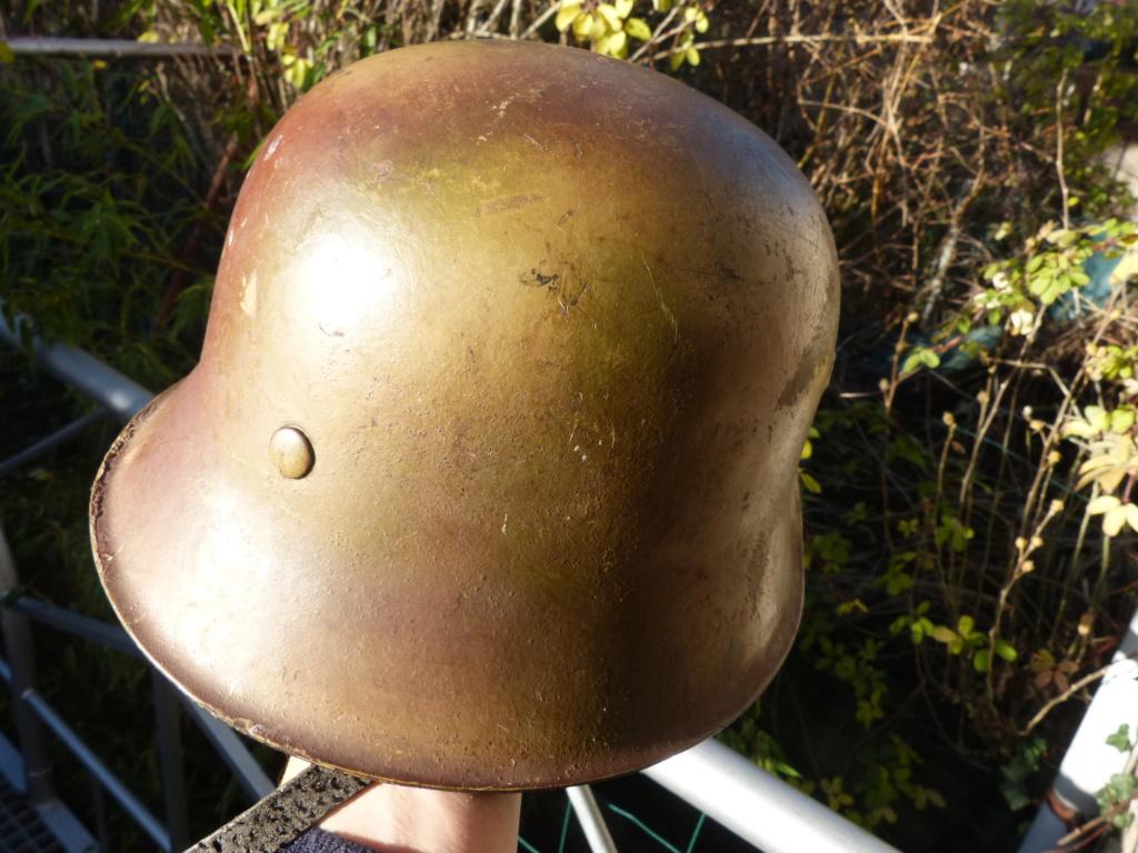 """Aide à l'identification paire de casques """"Normandie"""" P1210836"""