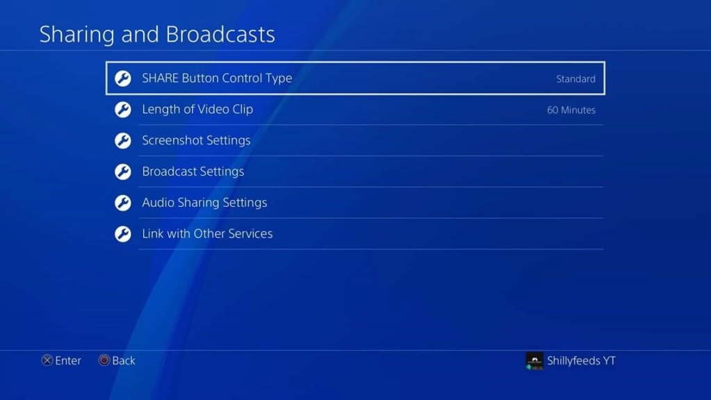 PlayStation 4 - Broadcast/Audio/Linking Settings Fb_img26