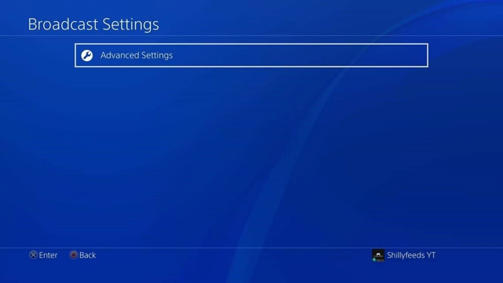 PlayStation 4 - Broadcast/Audio/Linking Settings Fb_img27