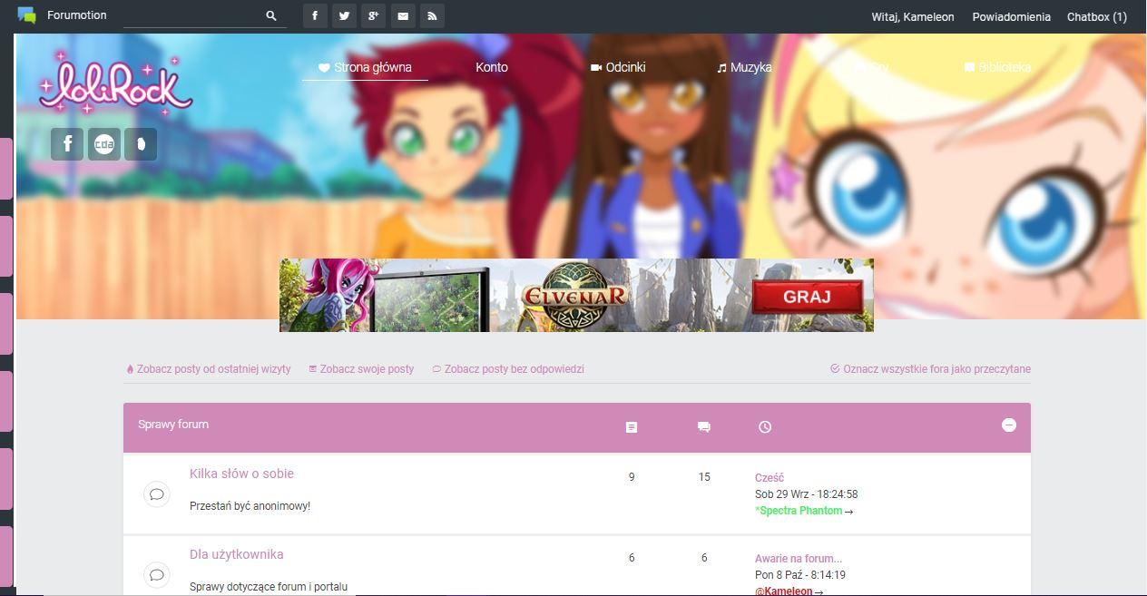 Poprzednie szaty graficzne forum Przech12
